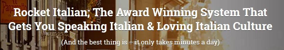 Learning Italian Language Online Lessons Singapore