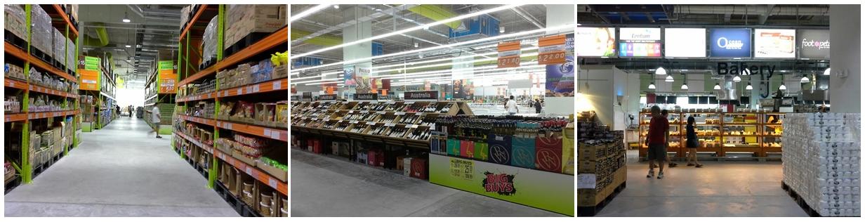 Big Box Warehouse Mart full height racking